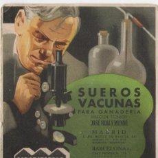 Coleccionismo Papel secante: LABORATORIOS REUNIDOS, S.A. *BADAJOZ / SEVILLA / CORDOBA / MADRID / BARCELONA**PAPEL SECANTE**. Lote 10628987