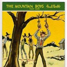 Coleccionismo Papel secante: GRAN SECANTE PUBLICIDAD, THE MOUNTAIN BOYS , PAUL WEBB , CALENDARIO 1947 ,SEC380. Lote 27171297