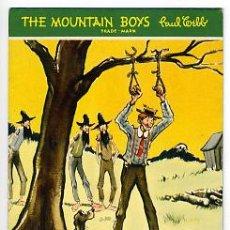 Coleccionismo Papel secante: GRAN SECANTE PUBLICIDAD, THE MOUNTAIN BOYS , PAUL WEBB , CALENDARIO 1947 ,SEC391. Lote 27171312