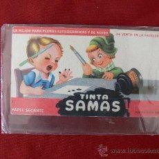 Coleccionismo Papel secante: SECANTE TINTA SAMAS NUEVO. Lote 27592610