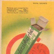 Coleccionismo Papel secante: PAPEL SECANTE LABORATORIOS LIEBIG SEVILLA PASECA-100. Lote 27498959