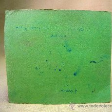 Coleccionismo Papel secante: PAPEL SECANTE, LIBRERIA, COLOR VERDE18 X 16 CM. Lote 27625785