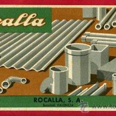Collectionnisme Papier buvard: SECANTE PUBLICIDAD , ROCALLA , SEC604. Lote 27724518