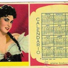 Coleccionismo Papel secante: PAPEL SECANTE CALENDARIO 1957. Lote 28946536
