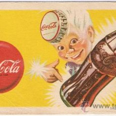 Coleccionismo Papel secante: COCA COLA PAPEL SECANTE 1947 AMERICANO. Lote 30045577