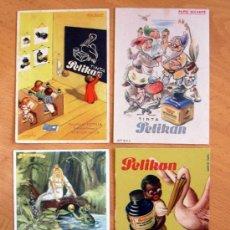 Coleccionismo Papel secante: PELIKAN - COLECCIÓN DE SECANTES, VER INTERIOR, SE MUESTRAN TODOS EN LAS FOTOS ADICIONALES. Lote 30327475