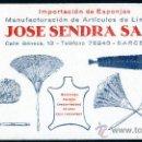Coleccionismo Papel secante: PAPEL SECANTE – ARTÍCULOS DE LIMPIEZA . Lote 30861267