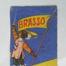 Coleccionismo Papel secante: PAPEL SECANTE CON PUBLICIDAD, - AZUL BRASSO , LERCHUNDI S.A. BILBAO. Lote 30909947