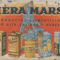 Coleccionismo Papel secante: PAPEL SECANTE PRODUCTOS RIERA MARSA. Lote 31685867