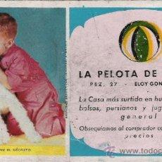 Coleccionismo Papel secante: LA PELOTA DE GOMA. Lote 31810879