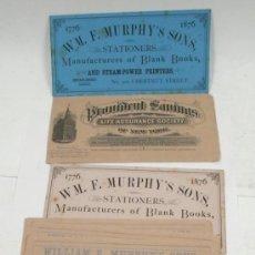 Coleccionismo Papel secante: LOTE DE 14 PAPELES SECANTES, , 1920'S.. Lote 31840551