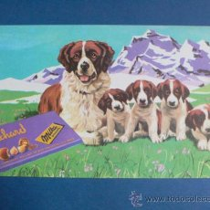 Collectionnisme Papier buvard: SECANTE- CHOCOLATE SUCHARD- 13 X 21,5 CMS. PERROS. - VELL I BELL. Lote 32751306