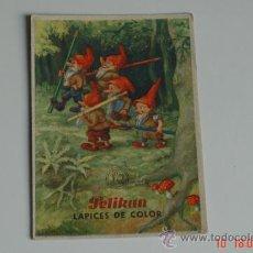 Coleccionismo Papel secante: SECANTE PELIKAN-LAPICES DE COLOR-NUMERO 431-. Lote 33180032