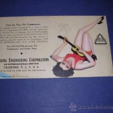 Coleccionismo Papel secante: SECANTE - PIN UPS - 33369 -19333 BROWM & BIGELOW -USA PACKING ENGINEERING CORPORATION . Lote 34142944