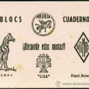 Coleccionismo Papel secante: PAPEL SECANTE – BLOG CUADERNOS. Lote 160889465