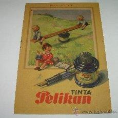 Coleccionismo Papel secante: SECANTE AUTENTICO PELIKAN.. Lote 34502359