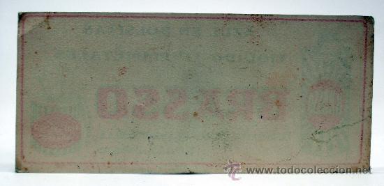 Coleccionismo Papel secante: Papel secante Brasso limpiametales y azul en bolsitas Bilbao Deusto - Foto 2 - 34808727