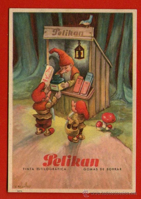 SECANTE PELIKAN - Nº 347-R - BIEN CONSERVADO - SIN USAR (Coleccionismo - Papel Secante)