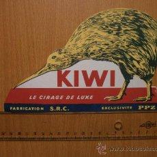 Collezionismo Carta assorbente: PAPEL SECANTE. KIWI. Lote 37302351
