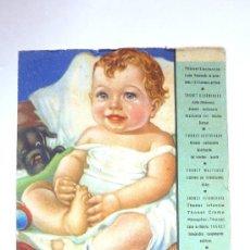 Coleccionismo Papel secante: PAPEL SECANTE PUBLICIDAD.CARTEL PEQUEÑO LABORATORIOS HOMEDES .PRODUCTOS REGIMEN. GRAFICA MANEN. Lote 38233560