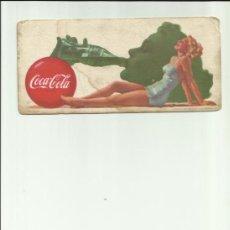 Coleccionismo Papel secante: SECANTE DE COCA COLA 1951. Lote 38957844