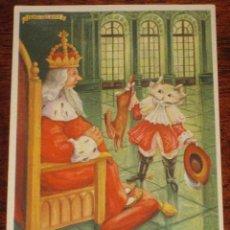 Coleccionismo Papel secante: ANTIGUO SECANTE DE PELIKAN - GATO CON BOTAS - N. 1633 BCL.. Lote 38255335