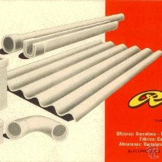 Coleccionismo Papel secante: PAPEL SECANTE - ROCALLA BARCELONA CASTELLDEFELS. Lote 43737540