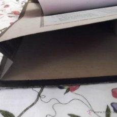 Coleccionismo Papel secante: PAPEL SECANTE DE MESA ESCRITORIO MUY ANTIGÜO. Lote 44362159