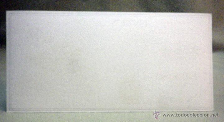 Coleccionismo Papel secante: PAPEL SECANTE, HILADOS Y TEJIDOS, TRINXET, DE BARCELONA, SERIE MAPA O PLANO DE PROVINCIA ORENSE - Foto 2 - 194756212