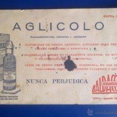 Coleccionismo Papel secante: PAPEL SECANTE - PUBLICIDAD FARMACIA -. Lote 44983017