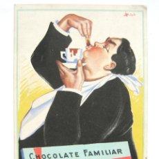Coleccionismo Papel secante: PAPEL SECANTE CHOCOLATE / CHOCOLATES KOHLER DE VAINILLA O CANELA AÑOS 40 - 50. Lote 118494676