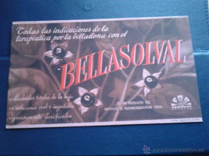 BELLASOLVAL IFABI GRANADA (Coleccionismo - Papel Secante)