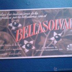 Coleccionismo Papel secante: BELLASOLVAL IFABI GRANADA. Lote 47078707