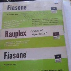 Coleccionismo Papel secante: FIASONE RAUPLEX . Lote 47078735