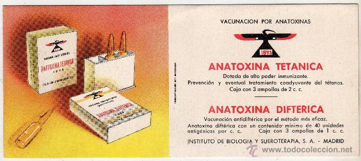 LABORATORIOS IBYS. MADRID (Coleccionismo - Papel Secante)