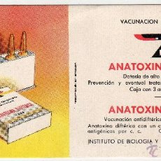 Coleccionismo Papel secante: LABORATORIOS IBYS. MADRID. Lote 47091601