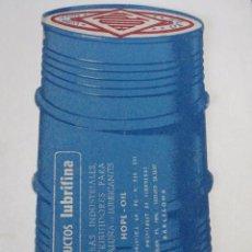 Coleccionismo Papel secante: PAPEL SECANTE PRODUCTOS PARA EL COCHE LUBRIFINA, LUBRICANTS OILS HOPE (BARCELONA). Lote 48264206