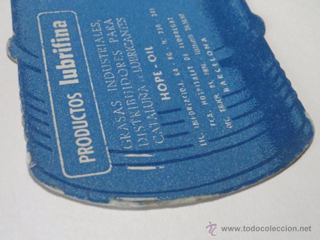 Coleccionismo Papel secante: PAPEL SECANTE PRODUCTOS PARA EL COCHE LUBRIFINA, LUBRICANTS OILS HOPE (BARCELONA) - Foto 2 - 48264206