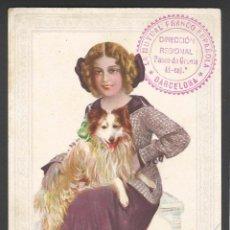 Coleccionismo Papel secante: LA MUTUAL FRANCO ESPAÑOLA - 10 X 13,2 CM. Lote 48443178