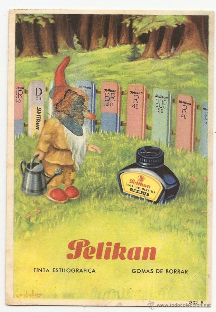 PELIKAN. PAPEL SECANTE (Coleccionismo - Papel Secante)