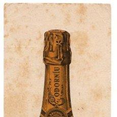 Coleccionismo Papel secante: PAPEL SECANTE CAVA RAVENTÓS CODORNIU. SAN SADURNI DE NOYA. CIRCA 1930. Lote 50533193