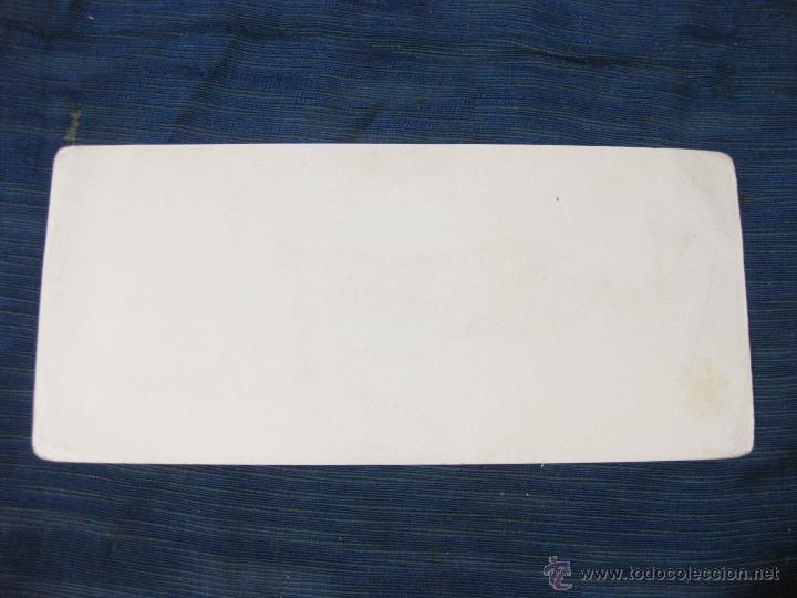 Coleccionismo Papel secante: PAPEL SECANTE DE CHICLES TARZAN. CHEWIN GUM - Foto 2 - 51701358