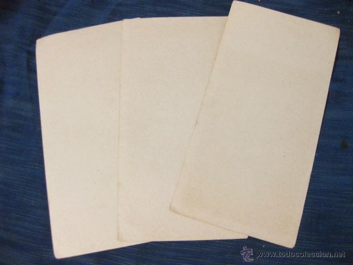 Coleccionismo Papel secante: 3 PAPEL SECANTE PUBLICITARIOS DE CARAMELOS ISICREM - Foto 3 - 51701426