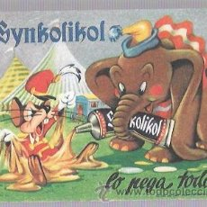 Coleccionismo Papel secante: PAPEL SECANTE. SYNKOLIKOL. 13,3 X 9,5 CM. Lote 52928859