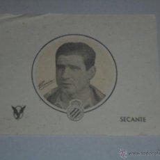 Coleccionismo Papel secante: PAPEL SECANTE RCD ESPAÑOL - PIQUIN , MARCAS DE ALGUNA ARRUGA. Lote 54351167