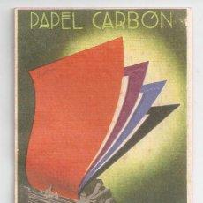 Colecionismo Mata-borrão: PAPEL SECANTE *PAPEL CARBÓN ROLAN* - 14,5X9 CM. Lote 55689443