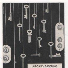 Coleccionismo Papel secante: (ALB-TC-4) PAPEL SECANTE ARCAS Y BASCULAS SOLER. Lote 63277240