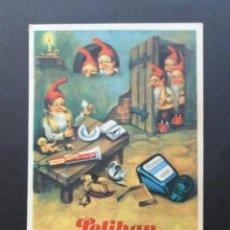 Coleccionismo Papel secante: PELIKAN PAPEL SECANTE CON PUBLICIDAD DE TINTA ESTILOGRAFICA Y PELIGOM LA COLA PARA TODO. Lote 70342041