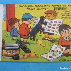 Coleccionismo Papel secante: SECANTE EBRO , , CONTI. Lote 71990539