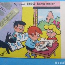 Coleccionismo Papel secante: SECANTE EBRO , CONTI. Lote 71993127